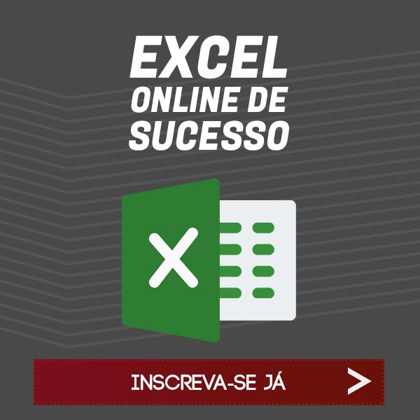 Curso Excel Online de Sucesso