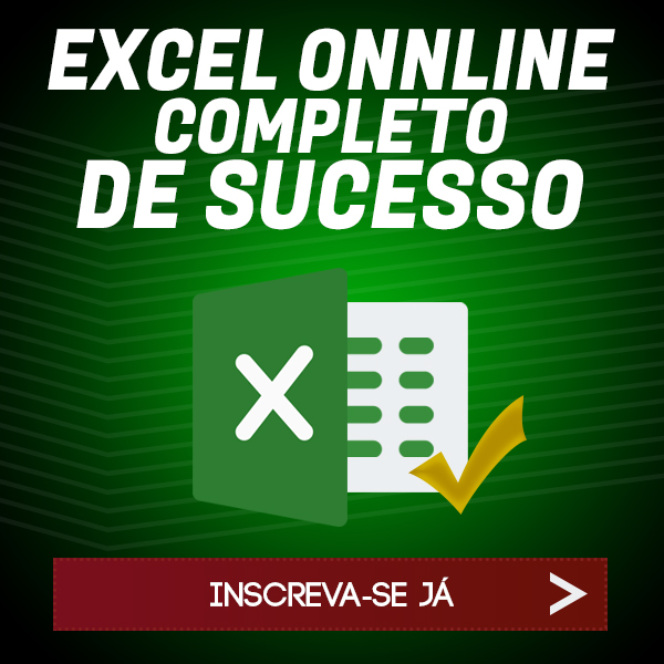 Curso Excel Onnline de sucesso