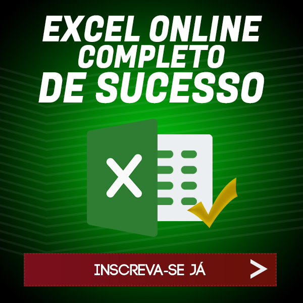 Curso Excel Onnline Completo de Sucesso